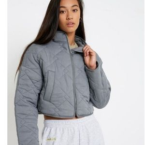 UO Quilted Crop Liner Jacket NWT